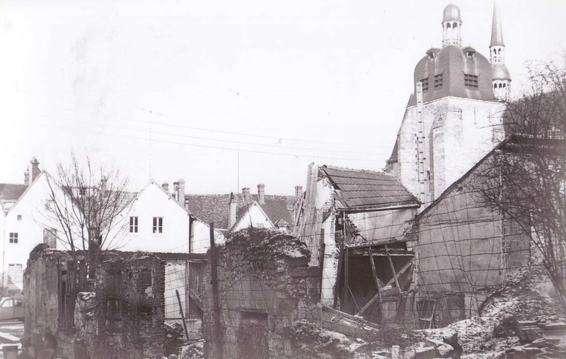 Construction de la poste de Nogent (copyright CC4V)