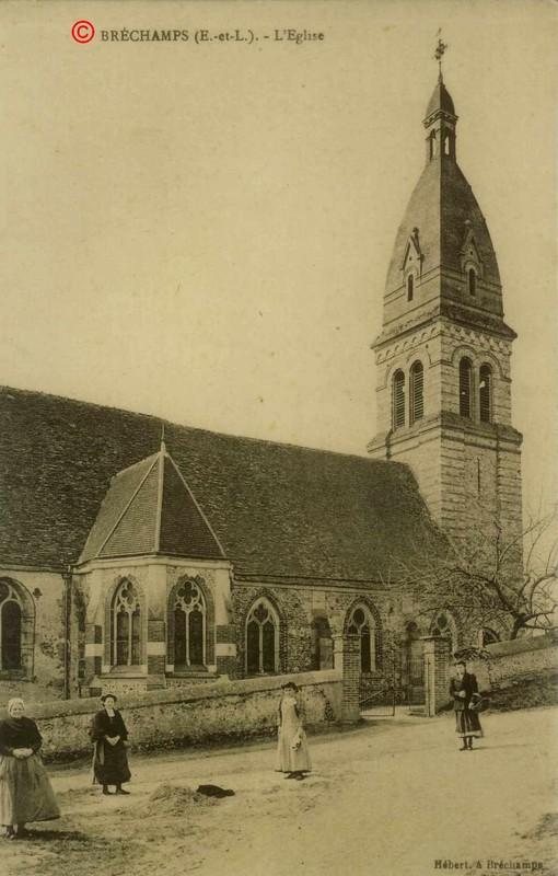 Eglise de Bréchamps