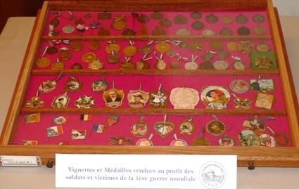 Médailles et vignettes : guerre de 14-18 (collection Stéphane)