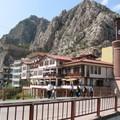 notre hotel, la maison des profs d'Amasya, pas mal, hein ?