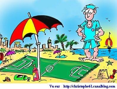 foot cet été