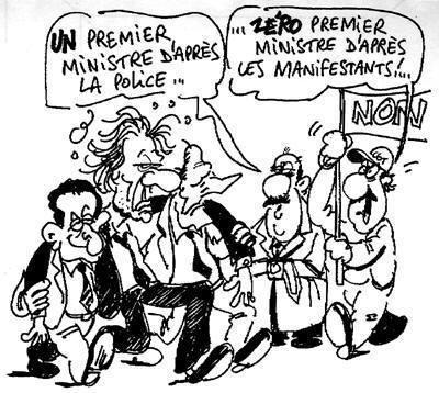 1 ou 0 premier ministre