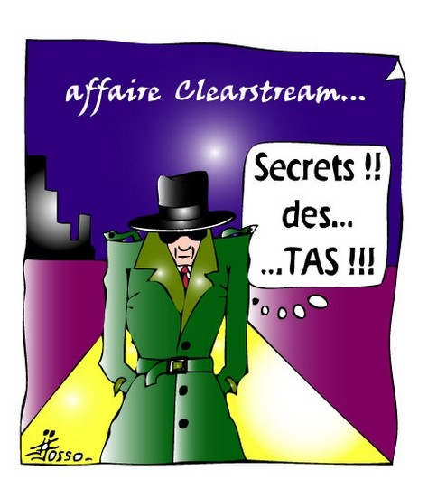 affaire clearstream secret