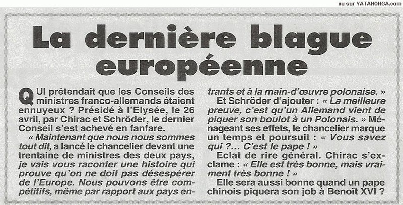 blague europeenne