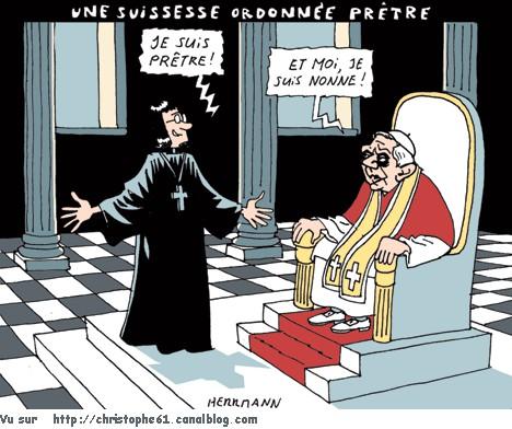 femme prêtre