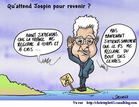 qu'attend jospin