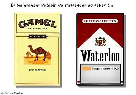 villepin et le tabac