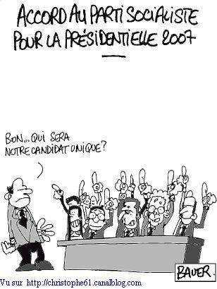 PS candidature unique
