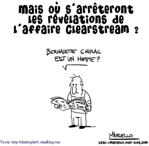 affaire clearstream révélations