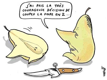 chirac a pris une decision
