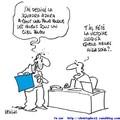 travaille bleu