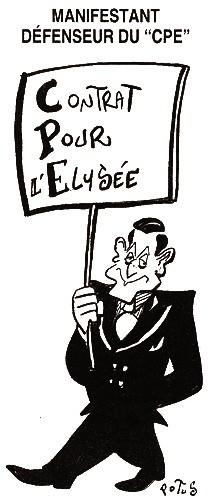 sarkozy contrat pour l elysee