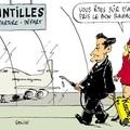 sarkosy prend l'avion