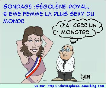 ségolène monstre