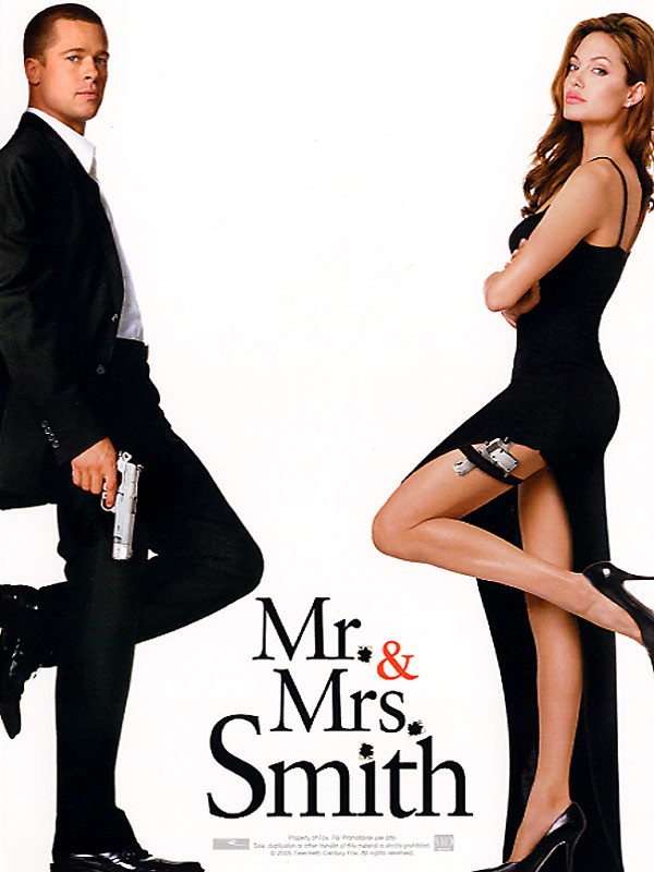 Mr and Mrs Smith dans Film 184323561