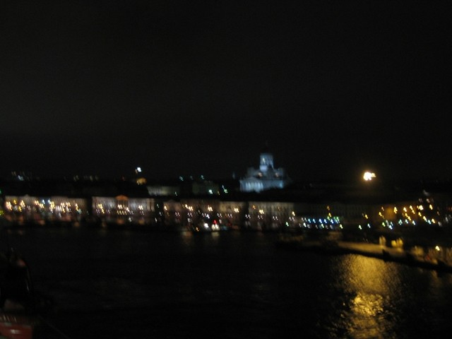 Helsinki by night