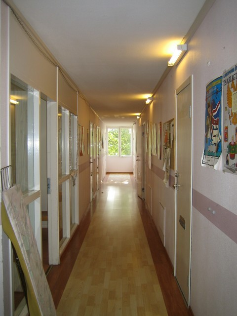 Le korridor de 8 chambres (couloir en suedois)