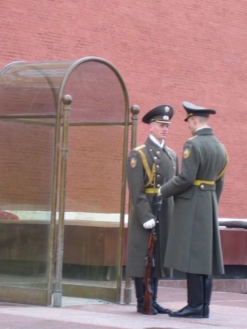 Inspection de la garde