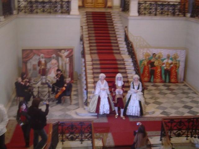 Intérieur du palace