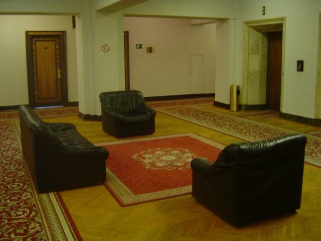 Le hall d'entrée