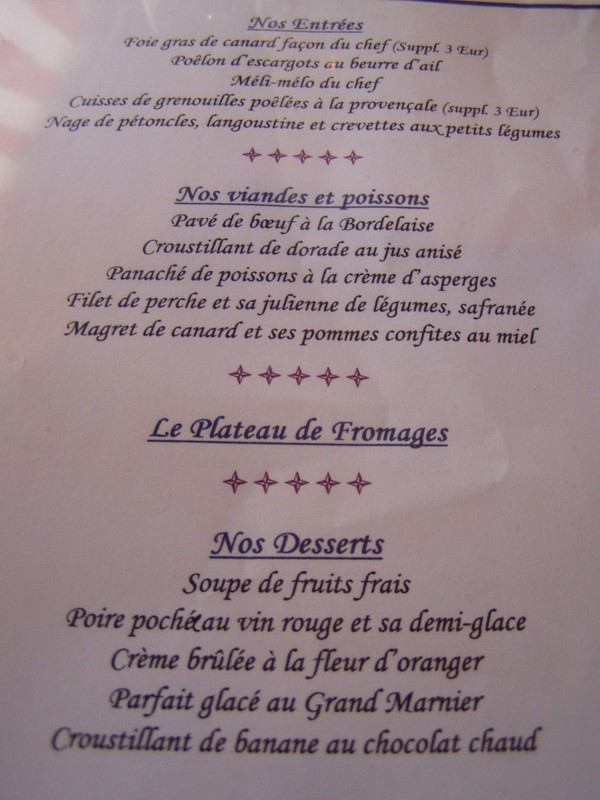 Restaurant Chez Anais Ayze