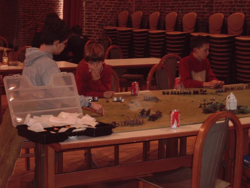 Tournoi cartes Magic et découverte de jeux de société pour tous le 6 novembre 2005