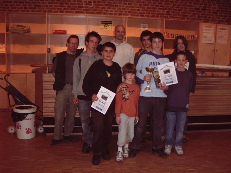 Remise des prix tournoi Seigneur des Anneaux du 5 juin 2005