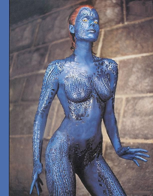 2010 that Mystique has long, wallpaper Rebecca romijn
