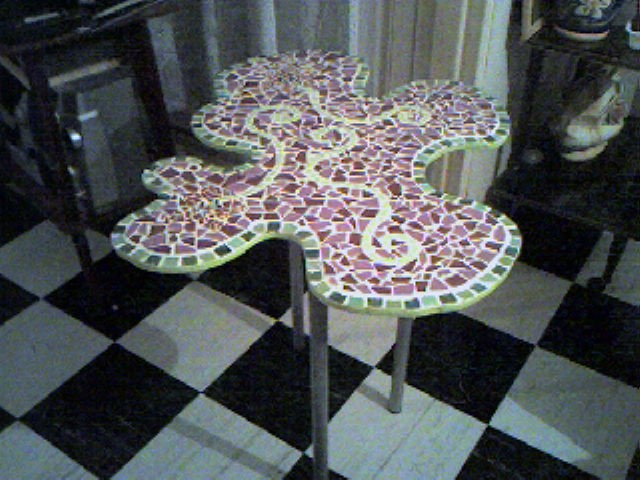 Cookiecatland for Comment realiser une table de jardin en mosaique