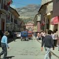 Rue animée d'Ayacucho