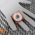 Bagues boutons et perles - création personnelle
