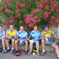 Groupe aux lauriers roses