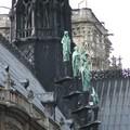 Détail derrière Notre Dame