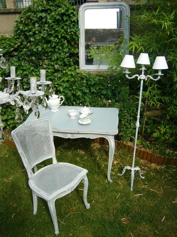 meubles louis xv patine blanche et grise photo 52. Black Bedroom Furniture Sets. Home Design Ideas