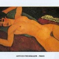 Modigliani, Nu allongé