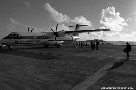 rodrigues airport