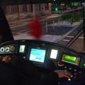 Poste de conduite d'un tram