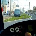 Un tram depuis un tram!