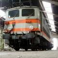 BB 337 de 1947 dans un petit dépôt de la gare St Jean