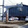 3 TGV en gare de Bordeaux St Jean