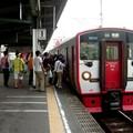 Commuter train 815 en gare de Beppu