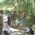 Tournage dans la forêt : les chasseurs