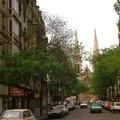 Eglise_et_rue_du_Jourdain_1980