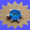 badge cathy Tortue
