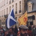 Ecosse: drapeau national et étendard royal