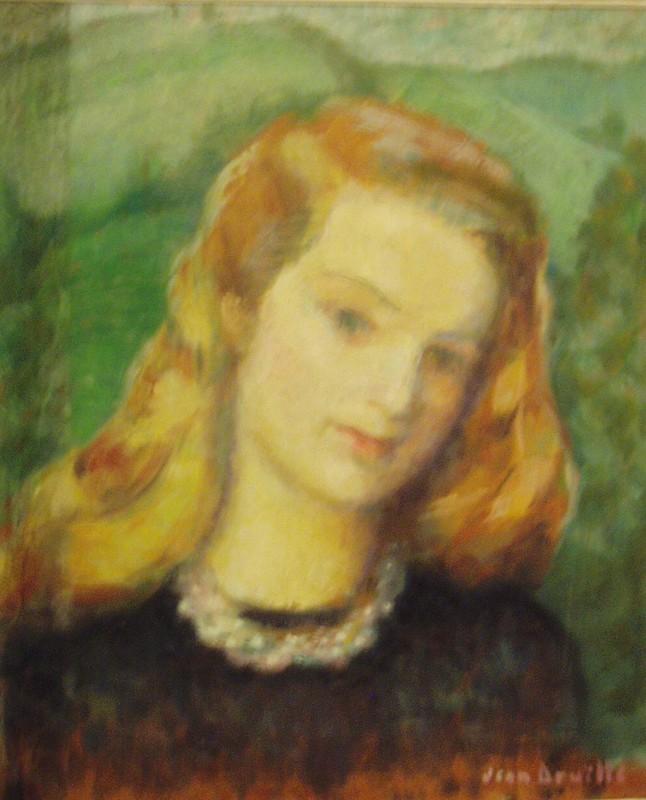 Portrait de Jeanne, peint par Jean