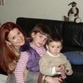 ils aiment bien Maman avec les cheveux raidis!!