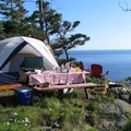 Site de camping : Cliff Hedge