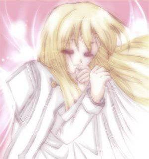 Colette, petit ange endormie