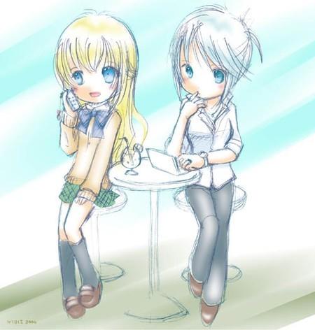 Sheena et Colette